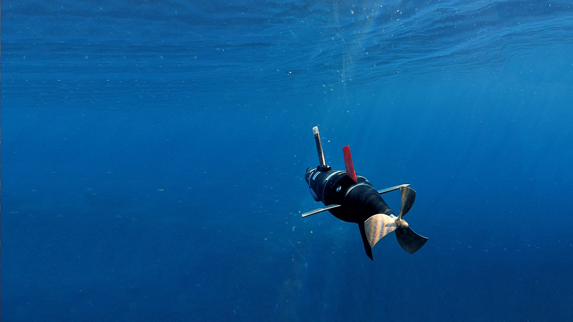 One-man portable and cost effective AUV