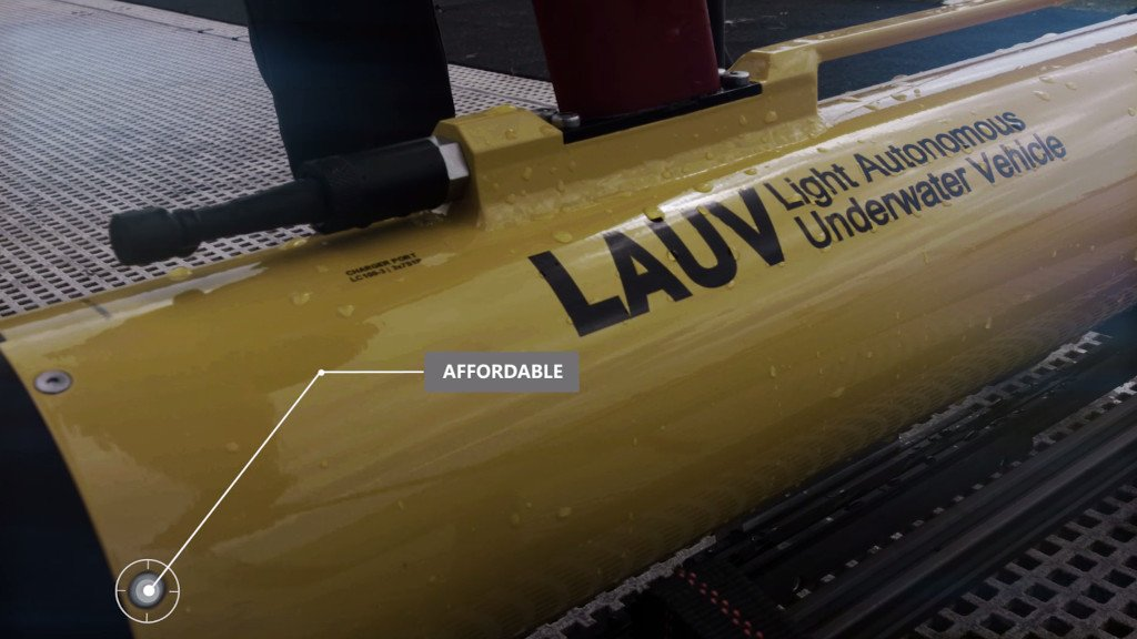 underwater vehicle, autonomous underwater vehicle, marine robot, underwater vehicle, AUV, LAUV, Oceanscan